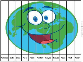 Earth Day ABC Order Puzzle
