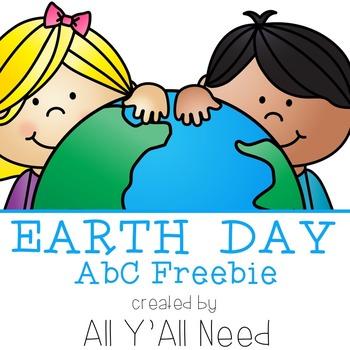 Earth Day ABC Order {freebie}