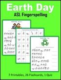 Earth Day (ASL Fingerspelling)