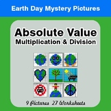 Earth Day: Absolute Value: Multiplication & Division - Mys