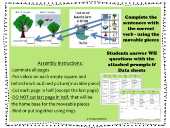 Earth Day ACTIONS Interactive Book