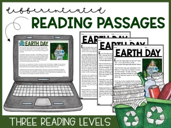 Earth Day Reading Activities | Informational Text