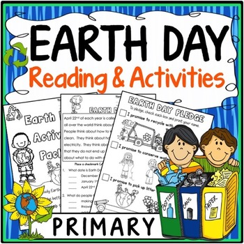 Earth Day Activities {Earth Day Reading, Questions, Vocabulary & Posters)