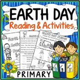 Earth Day Activities {Earth Day Reading, Questions, Vocabu