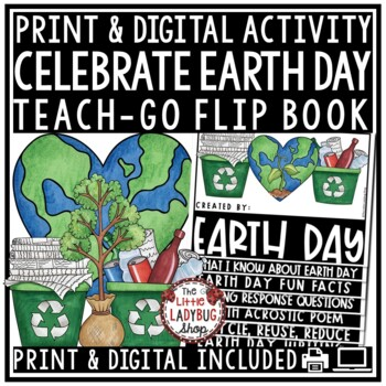 Earth Day Writing Activities Flip Book