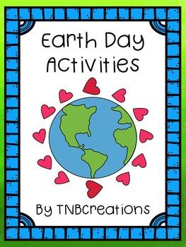 Earth Day Writing Activities Language Arts