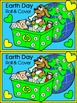 Earth Day Activities: Recycling Puppy Roll & Cover Spring Math Activity