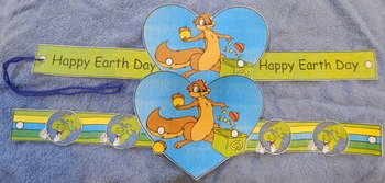 Earth Day Art Activities: Earth Day Recycling Headbands Craft Activity