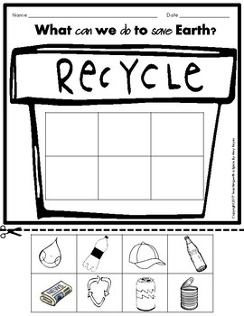 Earth Day Activities 30+ pages, plants, money