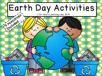 Earth Day Activities (4 resources for young learners)