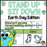 Earth Day Activities Brain Break Stand Up Sit Down Game