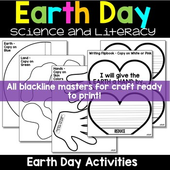 Earth Day Activities - Craft, Book, Writing