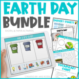 Earth Day Activities (Digital and Paper Bundle)