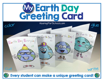 Earth Day Art & Literacy Activity