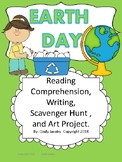Earth Day Activities Earth Day Writing Social Studies Reading Task Cards