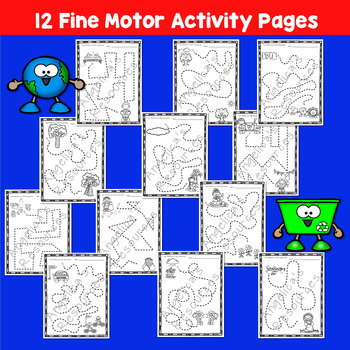 Earth Day Activities : Fine Motor Activity Printables