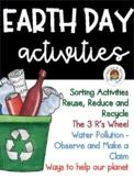 Earth Day Activities Freebie