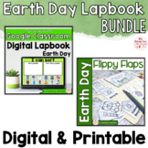 Earth Day Activities Interactive Notebook Digital and Prin