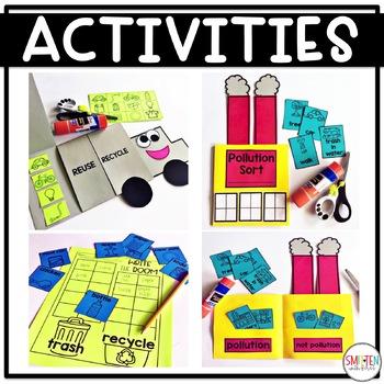 Earth Day Activities Kindergarten, First Grade, Second Grade
