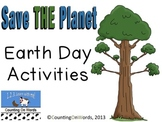 Earth Day Activities: Lift the Flap and Learn AND Trivia P