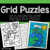 Earth Day Activities | Math Centers | Grid Puzzles
