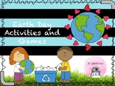 Earth Day Activities - Math, Writing, Science, and Social Studies