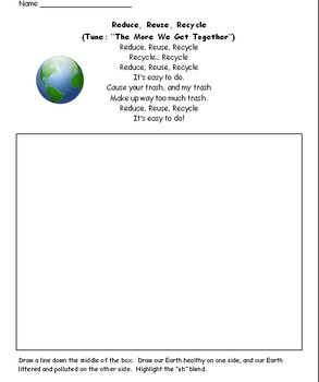 Earth Day Activities- Primary