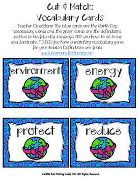 Earth Day Activities & Printables {Grades 1-2}