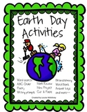 Earth Day Activities & Project 37 pages!!