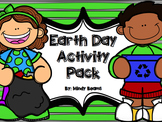 Earth Day Activities - Write the Room, ABC Order, Writing, Word Hunt....