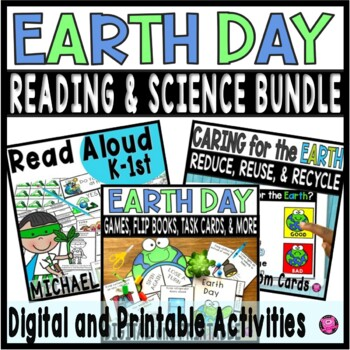 earth day activities kindergarten and first grade bundle by