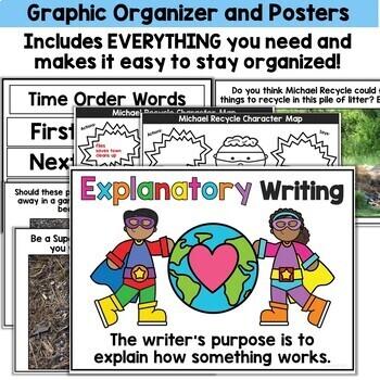 Earth Day Activities Kindergarten and First Grade Bundle