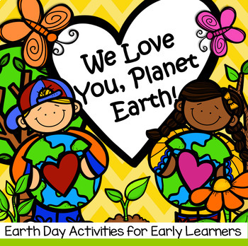 Earth Day Pack Centers and Activities for Preschool and Pre-K