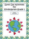 Earth Day Activities for Kindergarten-Grade 1