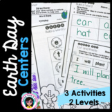 Earth Day Activities - for Literacy Centers