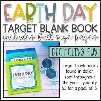 Earth Day Activities for Target Blank Books