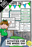 Earth Day Activities for the WHOLE DAY now with Boom Task Cards