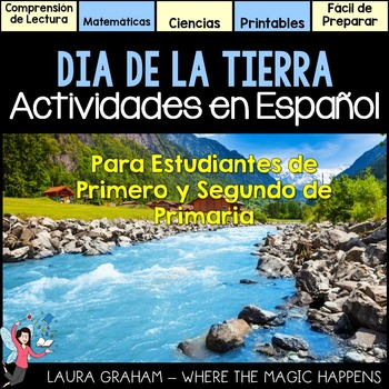 Earth Day Activities in Spanish (Dual language)