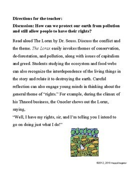 Earth Day Activity - Pollution Control Committee