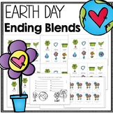 Earth Day Phonics Game for Ending Blends
