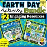 Earth Day Activity BUNDLE: Digital Scavenger Hunt & Build
