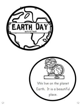 Earth Day Activity Book