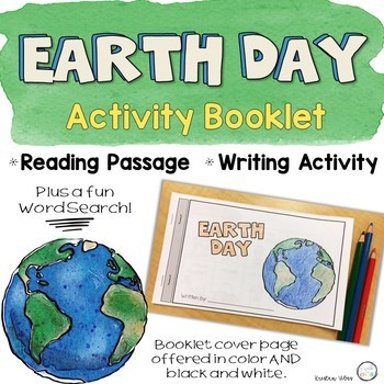 Earth Day Activity Booklet
