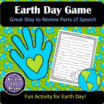 Earth Day Activity | Earth Day Silly Word Game