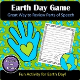 Earth Day Activity | Earth Day Parts of Speech Review Game