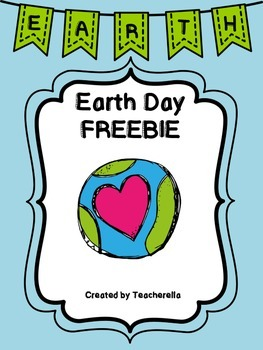 Earth Day Activity FREEBIE