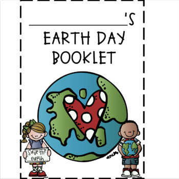 Earth Day Activity Flip Book