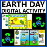 Earth Day Activity For Kindergarteners (Digital and Printa