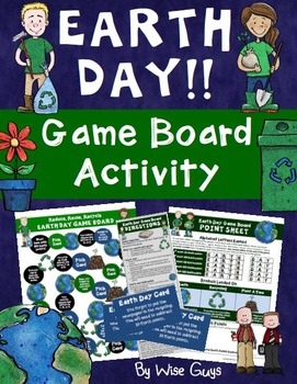 Earth Day Game Board Activity