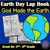 Earth Day Activity | God Made the Earth Lap Book